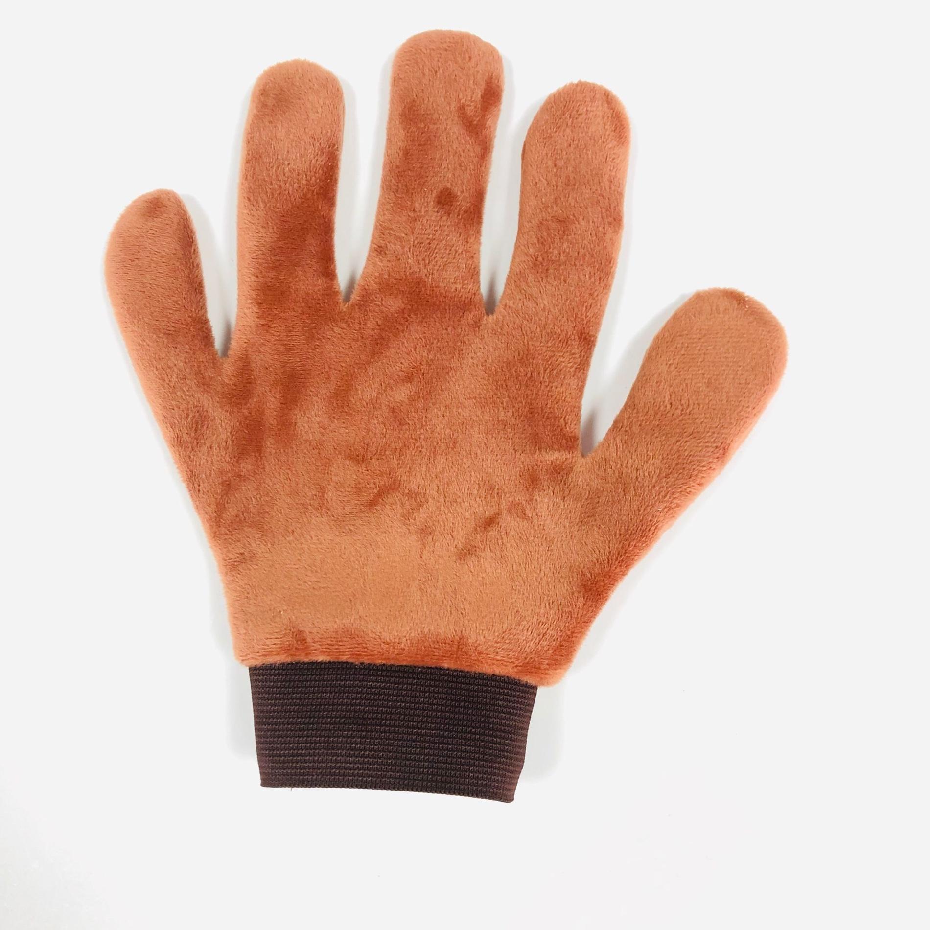 5 Fingers Microfiber Self Tanning Applicator Gloves
