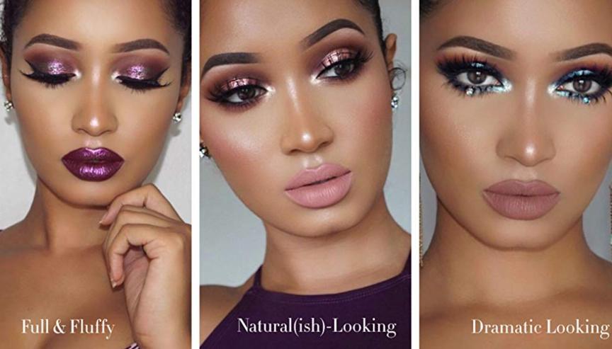 Natural Looking fake eyelashes