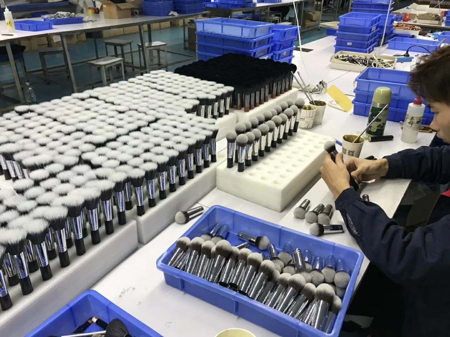 Cosmetic Brushes Production Line