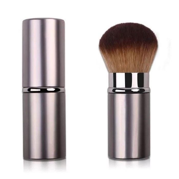 Eco Friendly Retractable Face Makeup Blush Brush