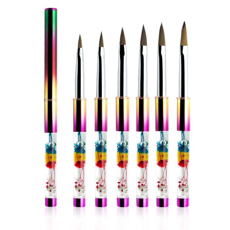 Nail Brushes Gel Painting Acrylic Nail Carving Tools