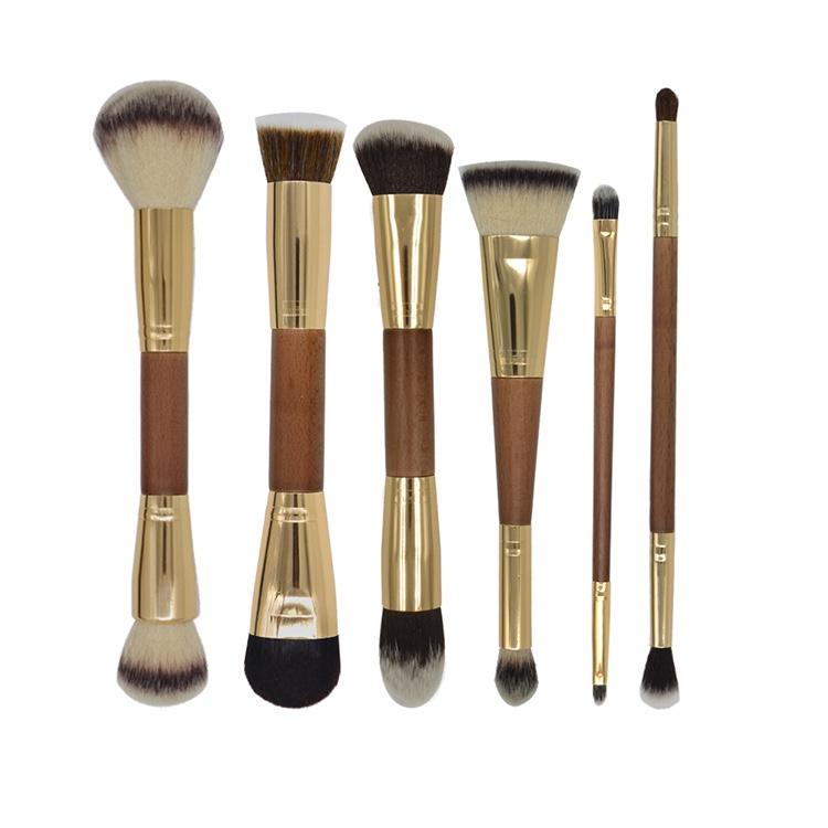 Vegan Make Up Foundation Brush Makeup Double