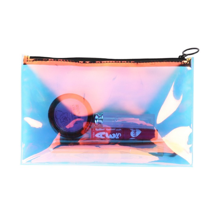 Designed Zipper Cosmetic Bag For Travel
