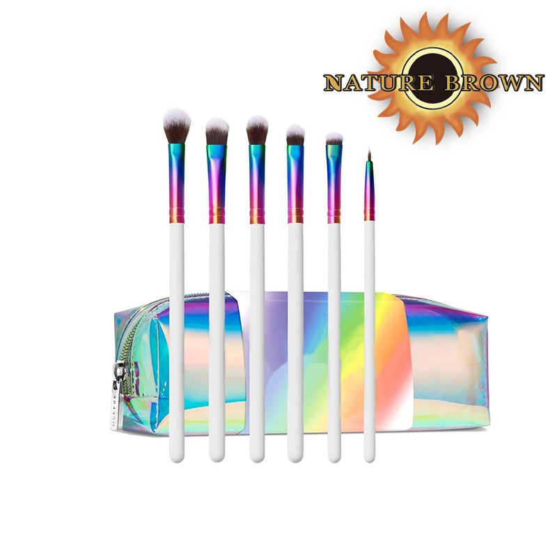 Custom Logo for High-quality Face Luxury Private Brand Kit Make up Brush Packaging Bling Makeup Brushes