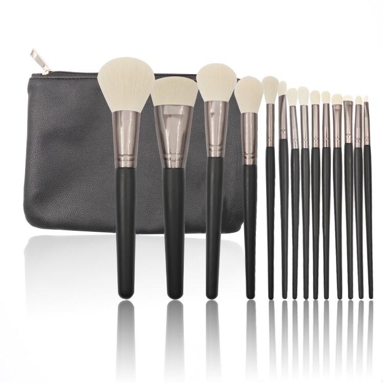 New Hot Selling Make up Brush 14 pcs Make-up Brushes Cover Kabuki Makeup Brush Set
