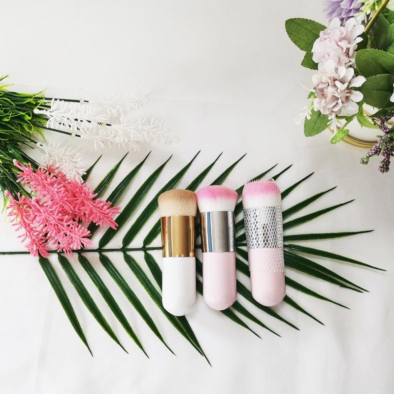 Custom Logo White Eco Friendly Synthetic Hair Diamond Makeup Brush Set