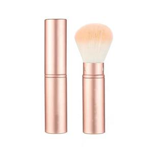 Factory Direct New Design Portable Powder Retractable Private Label High Quality Custom Single Makeup Brush