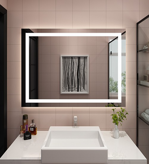 Beveled Edge LED Lighted Mirrors