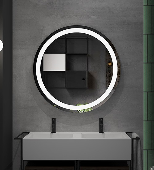 Halo LED Lighting Mirror