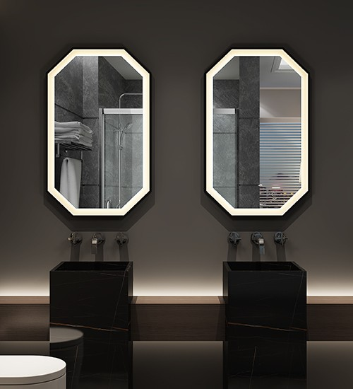 Luminous Oval Mirrors