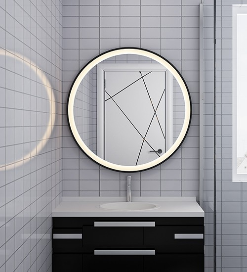 Fog Free Mirrors For Luxury Hotels
