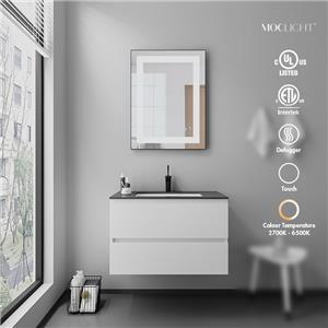 Espejos de baño con marco de aluminio delgado de 3 mm