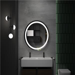 Round LED Bathroom Mirror With Lights
