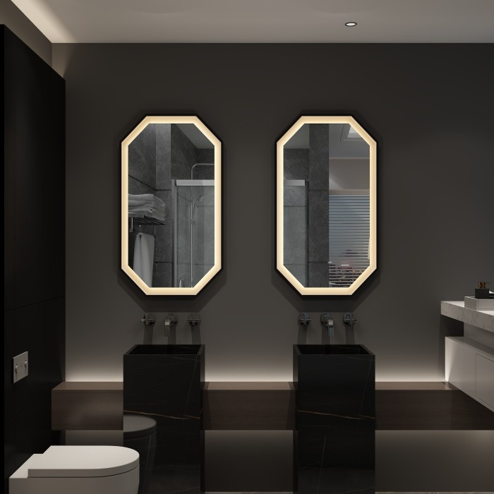 Frameless Wall Mounted LED Backlit Vanity Mirror Factory