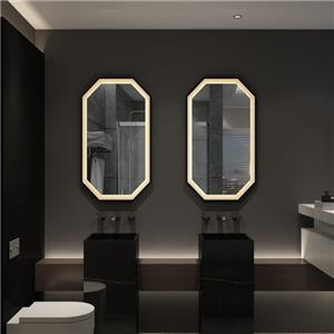 Frameless Wall Mounted LED Backlit Vanity Mirror