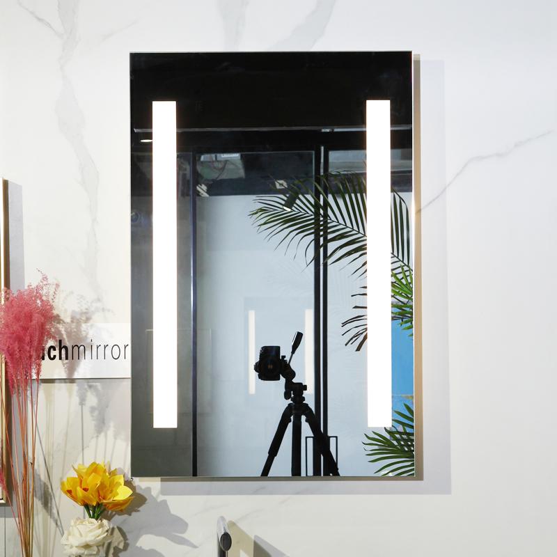 Hotel Bathroom LED Lighted Wall Vanity Mirror Factory