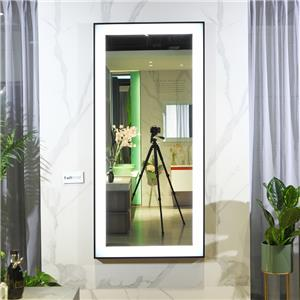 Luxury Full length Touch Screen beauty salon Mirror with LED lights