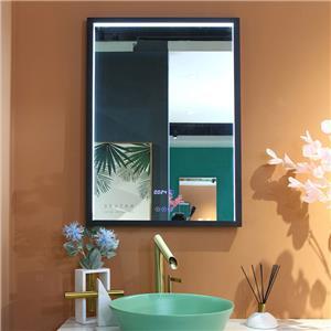 Fogless Aluminum framed LED bathroom mirror