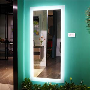 Wall mounted Full Length Mirror with LED light