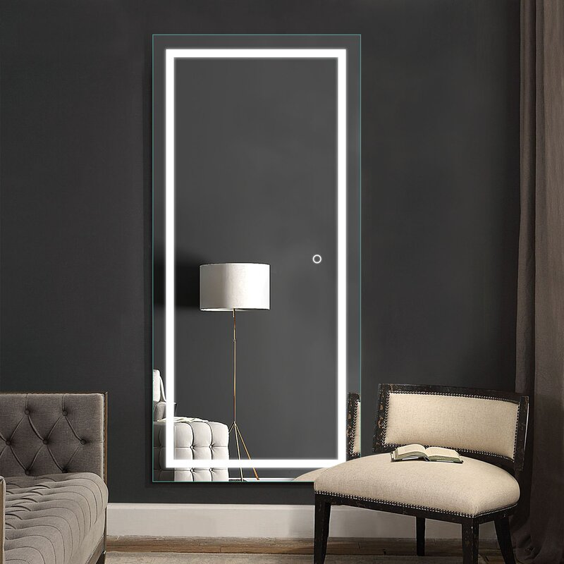 LED Lighted Dressing Room Mirrors Factory