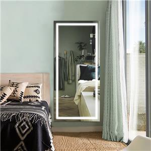 Full Length Salon Mirror With Led Light