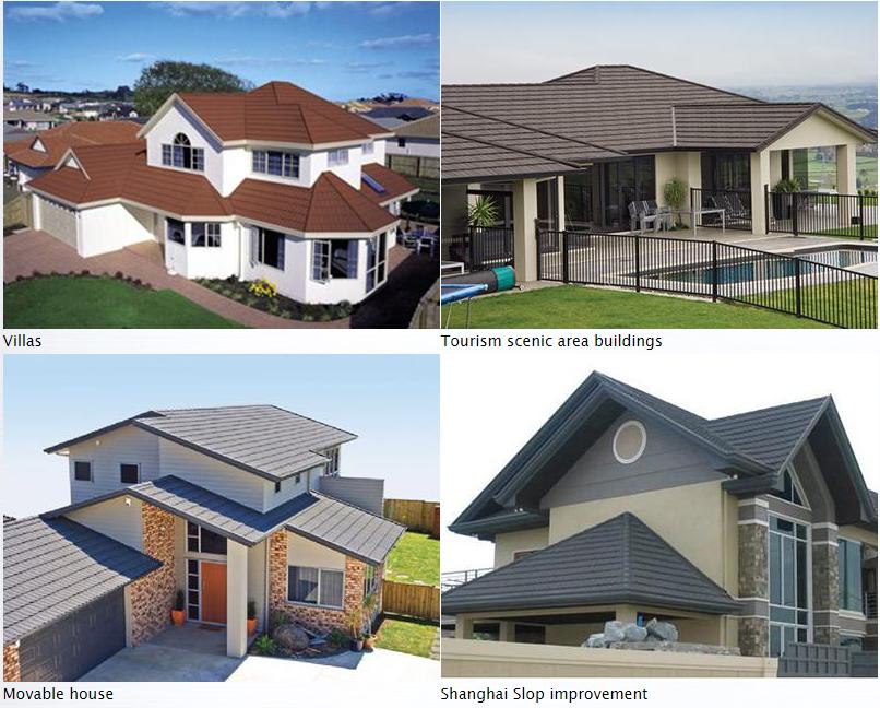sheet steel roofing