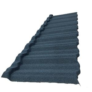 Classic Type Stone Coated Metal Shingle Roofing Sheets