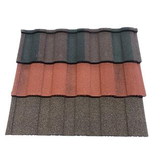 Roman Type Stone Coated Galvanized Metal Roofing Shingle And Sifing