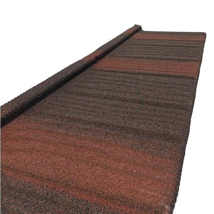 La toiture en bois de tuile en acier couvre les tuiles enduites en pierre de Galvalume