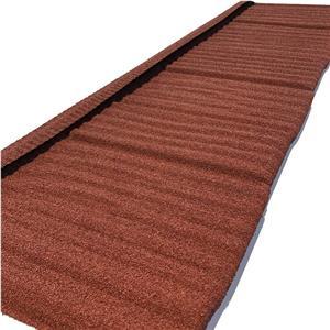 Interlocking Type Corrugated Aluminium Zinc Steel Stone Coated Roofing Sheet