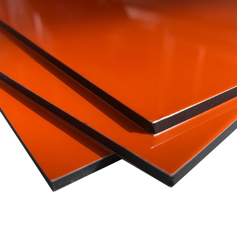 Unbroken Aluminium Composite Wall Panel Cladding