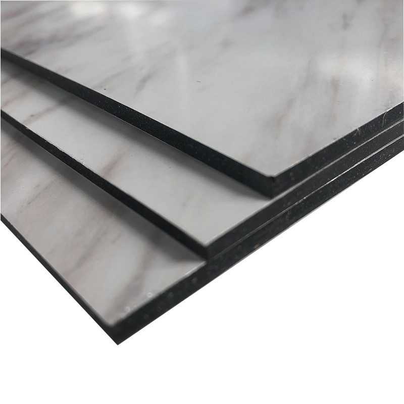 Feuille ACP de matériau de revêtement de mur extérieur en pierre