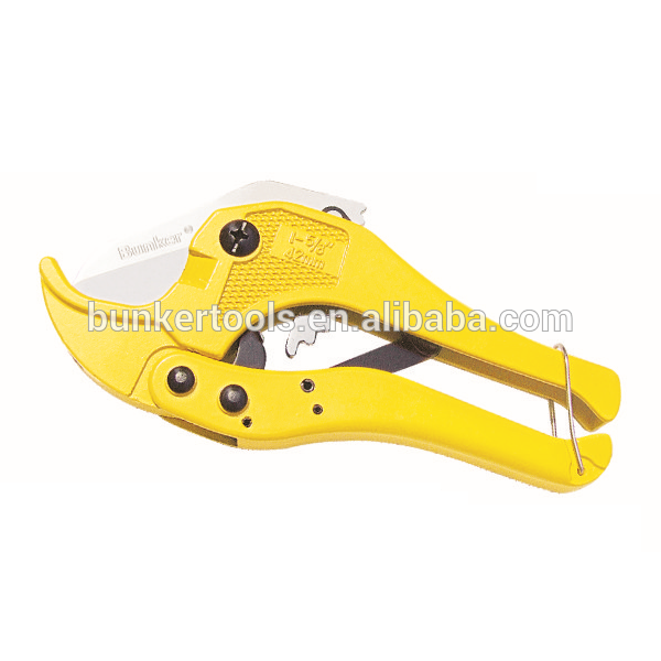 Paggupit ng Ratchet Pipe cutter Cuts up 1-1 / 4 pulgada (42 mm)