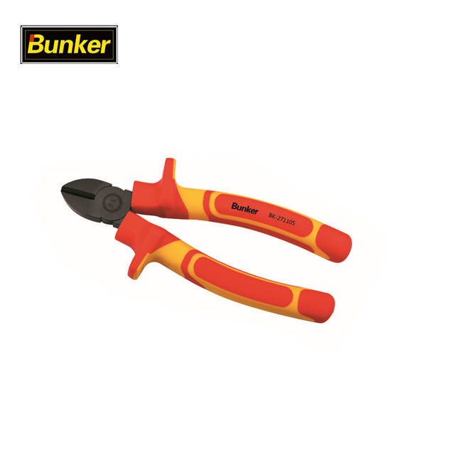 Bunker 1000V VDE Insulated long nose cutting plier multi tool Manufacturers, Bunker 1000V VDE Insulated long nose cutting plier multi tool Factory, Supply Bunker 1000V VDE Insulated long nose cutting plier multi tool