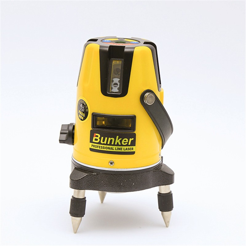 Self leveling 5 linya rotary laser level 360 degree
