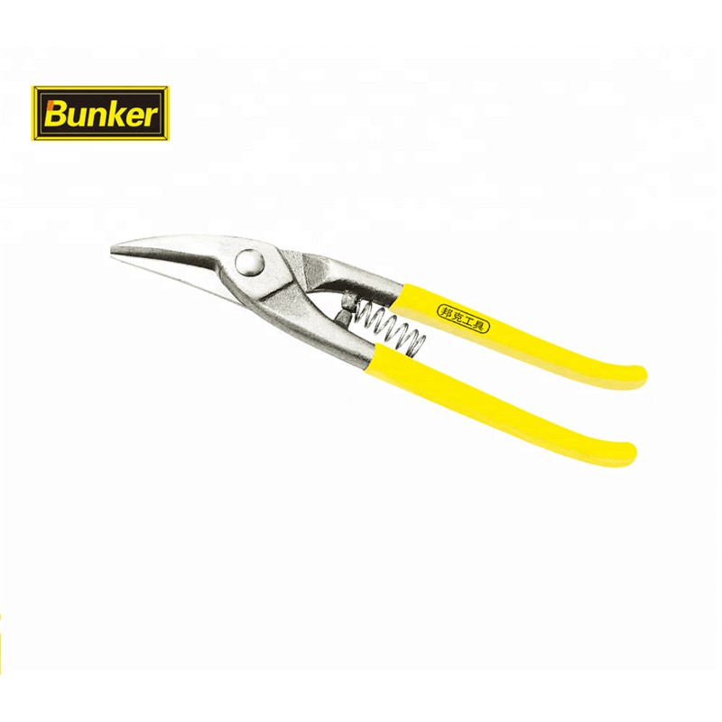Elbow Iron snips scissors 8 inch steel strip cutter