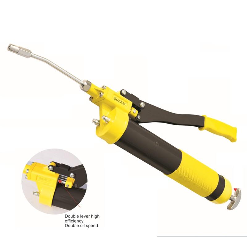 TOP Grade 1000CC Lever Grease Gun hand oil injector