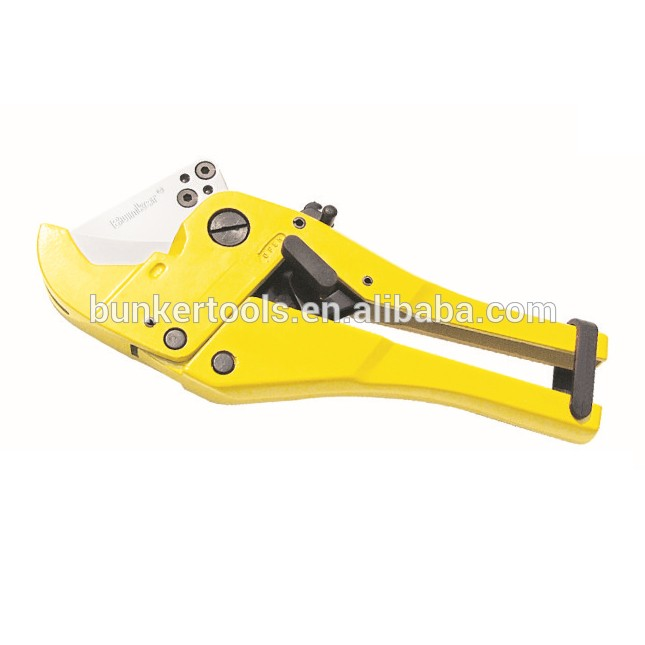 Heavy Duty PVC Pipe Cutter 42mm with rachet handle