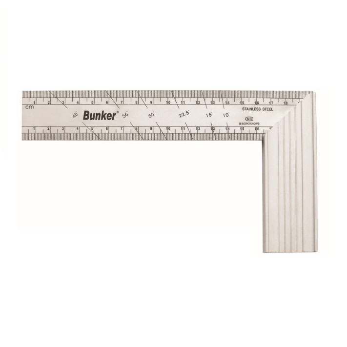Aluminum Alloy L Square Right Angle Ruler with level bubble