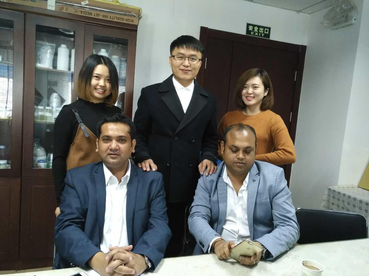 Die Zusammenarbeit mit BANGLADESH Waschmittelfabrik