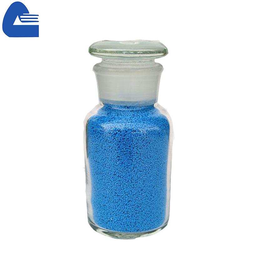 salpicos de cor azul para sabão em pó