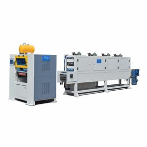 Wood Grain Floor Tile Sheet Lamination Machine