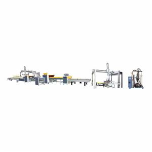 Automatic PUR Glue Panel Lamination Production Line
