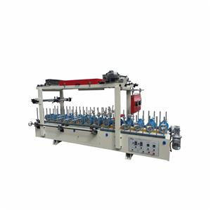 Cold Glue Profile Wrapping Machine And Line