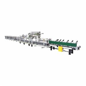 Lath Full-Panel Wrapping Production machine Line