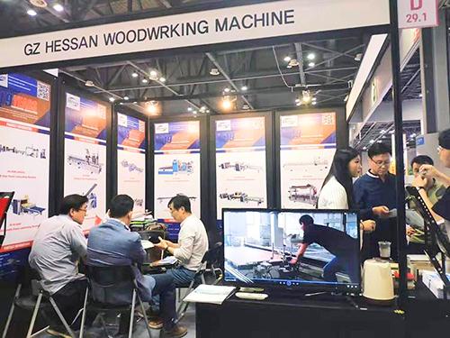 Hessan Woodworking Machine In Korea
