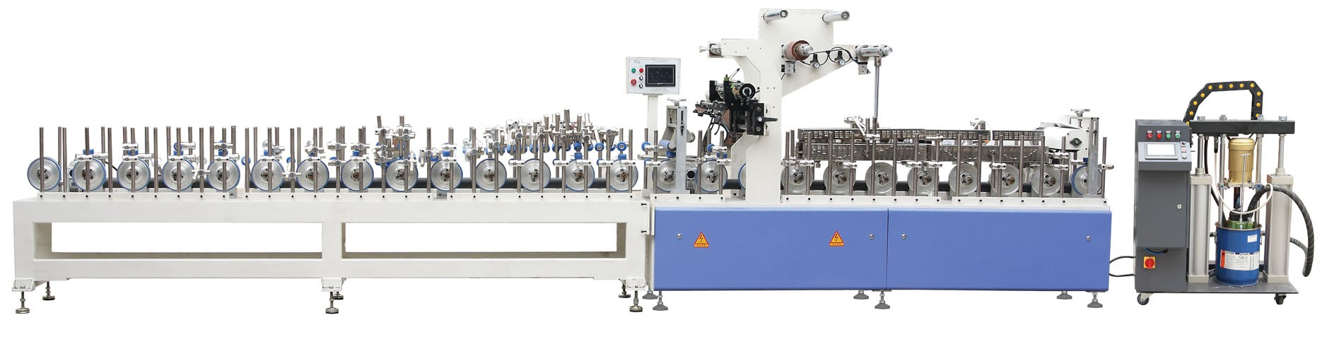 PUR Glue Profile Wrapping Line Manufacturers, PUR Glue Profile Wrapping Line Factory, Supply PUR Glue Profile Wrapping Line