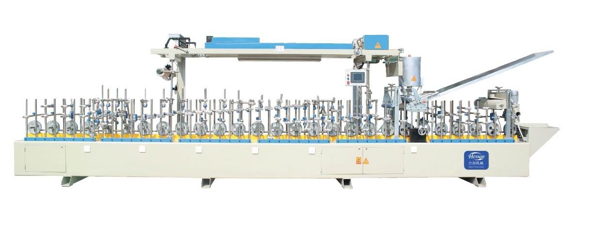 Door Frame Panel PUR Wrapping Machine