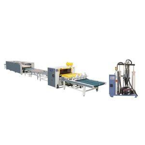 Machine For Wood Panel Laminating And Wrapping