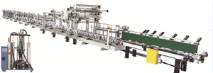 PUR Glue Panel Lamination And Wrapping Machine